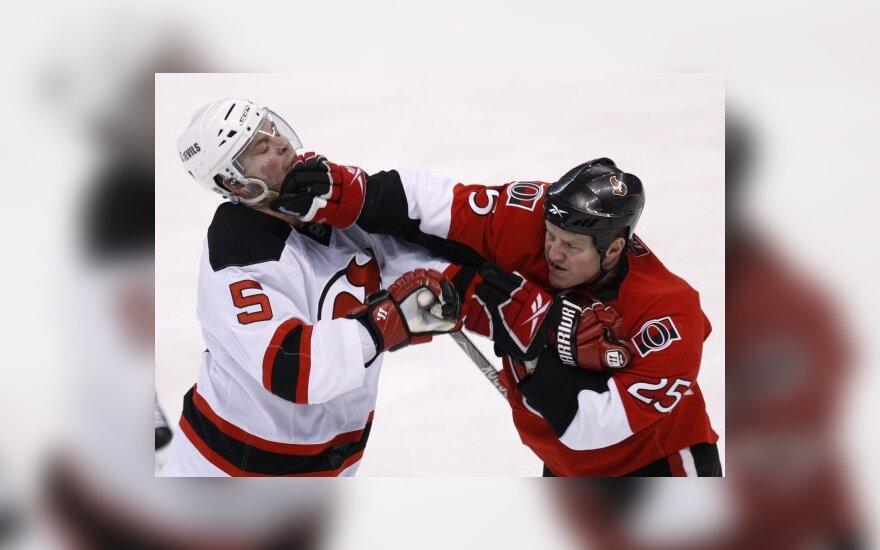 "D.Zubraus ""Devils"" klubas pasiekė rekordinę pergalę NHL čempionato reguliariajame sezone"