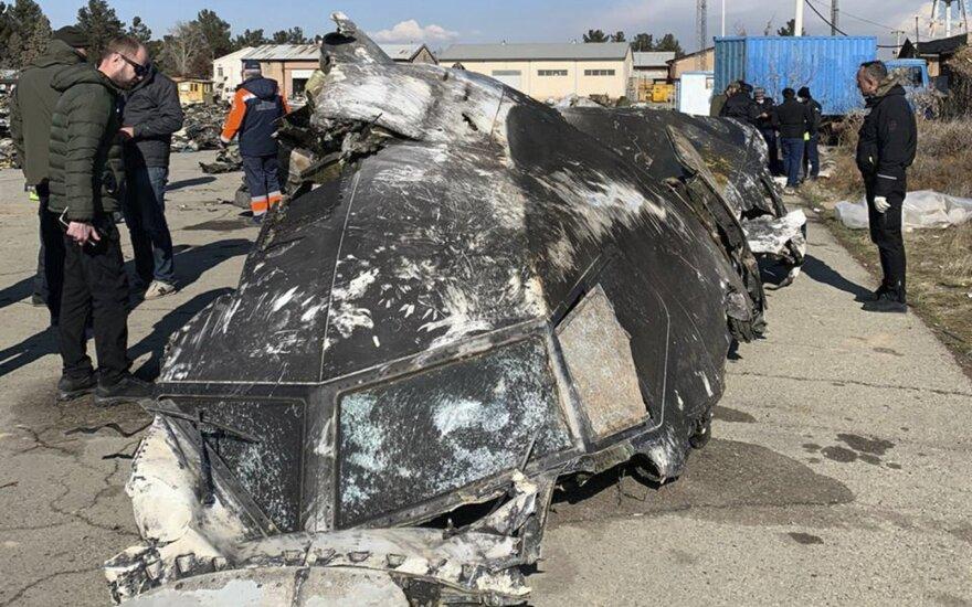 Numušto Ukrainos lėktuvo juodosios dėžės bus šifruojamos Irane