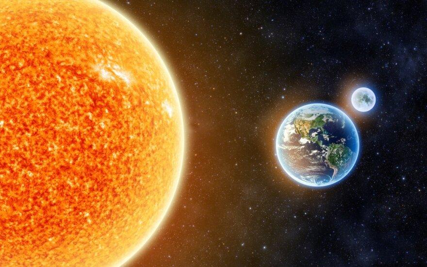 Kaip pasverti žvaigždę: ar sunki Saulė