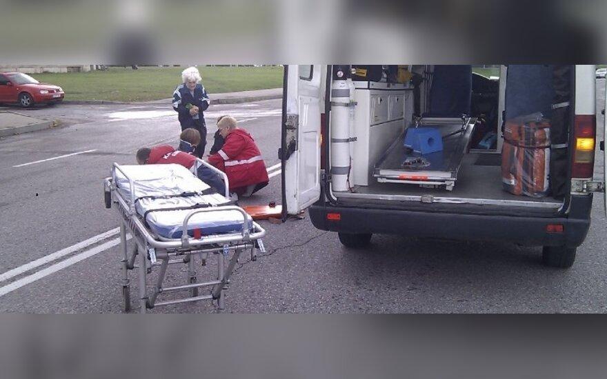 Vilniuje nuteistas dviratininkas, perėjoje sunkiai sužalojęs pėsčiąją