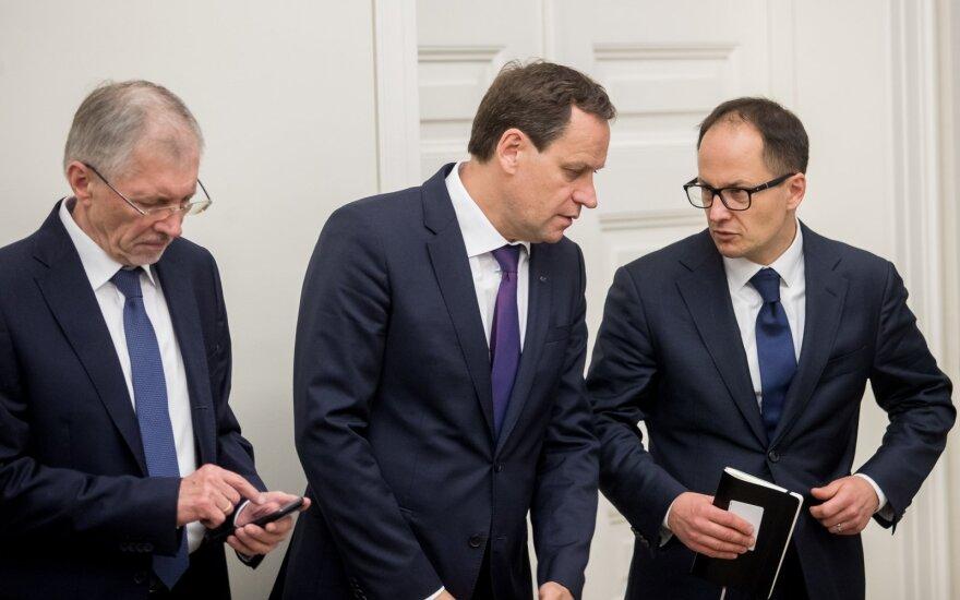 Gediminas Kirkilas, Valdemaras Tomaševskis, Aistis Zabarauskas