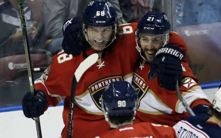 "NHL, ""Florida Panthers"" – ""Columbus Blue Jackets"" mačo akimirkos"