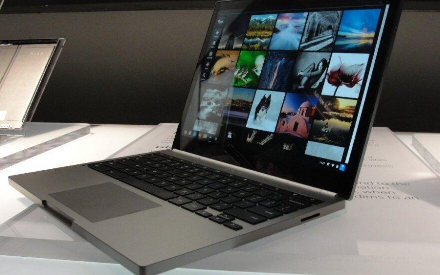 """""""Chromebook Pixel"""" nešiojamasis kompiuteris su """"Chrome"""" operacine sistema"""