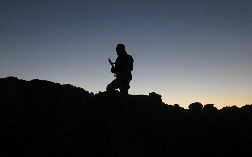 Peshmerga narys Irako Kurdistane