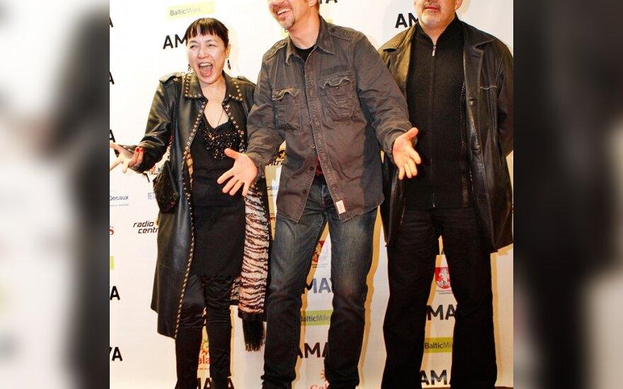 Kaori Momoi, Andrius Mamontovas, Maris Martinsons