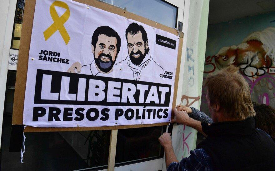 Ispanijos Aukščiausiasis Teismas atsisakė paleisti pretendentą į Katalonijos vadovo postą