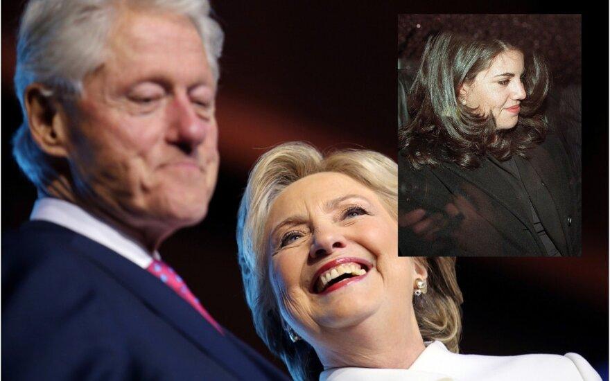 Billas ir Hilary Clintonai, Monica Lewinski