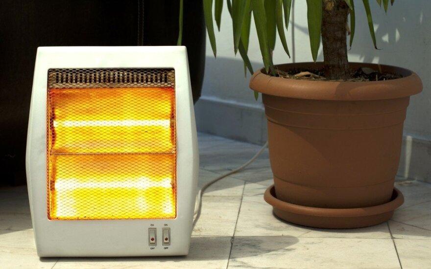 Infraraudonųjų spindulų šildytuvas
