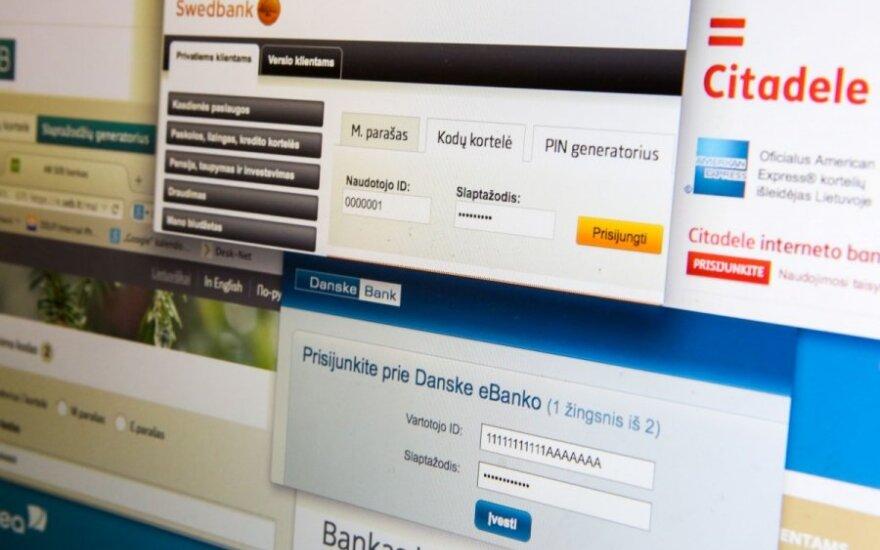 Sukčiai suįžūlėjo kaip reikiant: aktyviai atakuoja bankų klientus