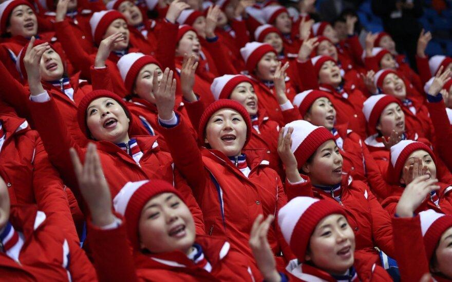 Šiaurės Korėjos sportininkų palaikymo komanda