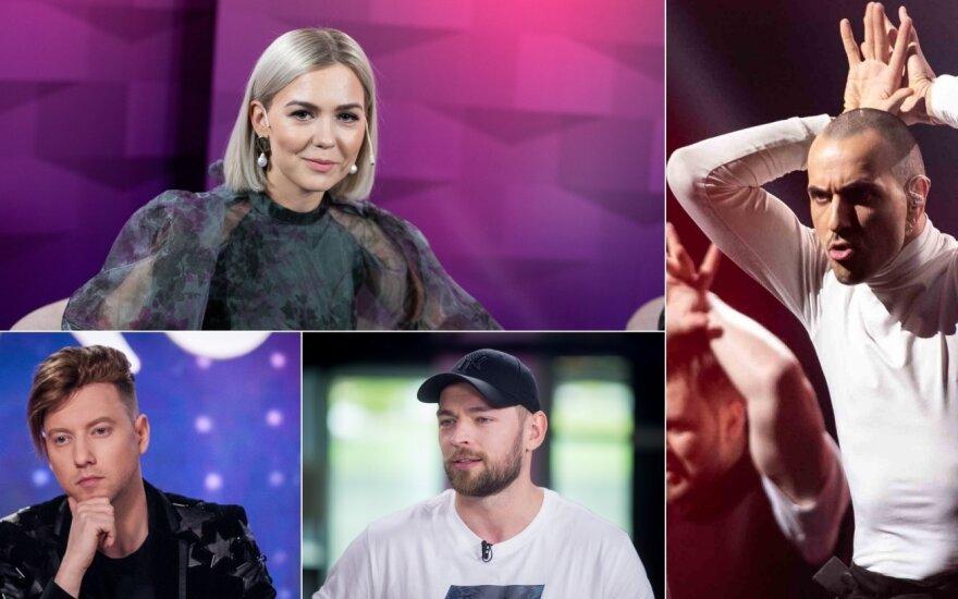 """Lietuvai """"Eurovizijoje"""" jau atstovavę atlikėjai ir """"The Roop"""""""