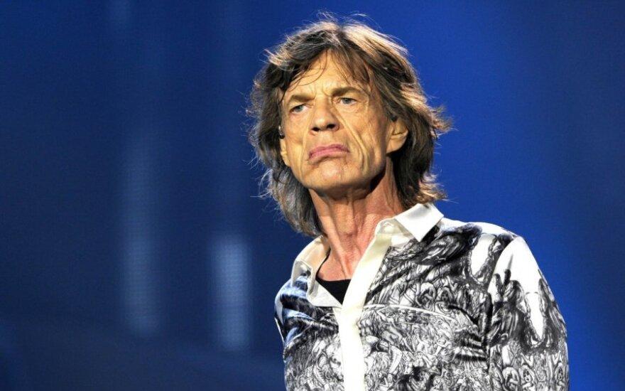 72-ejų M. Jaggeris turės dar vieną vaiką