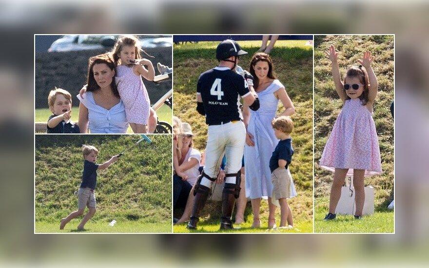 Kate Middleton su vaikais
