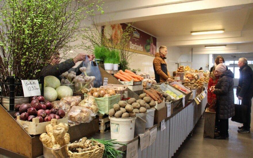 Velykinių produktų kainų tyrimas: pirkti turguje ar parduotuvėje?