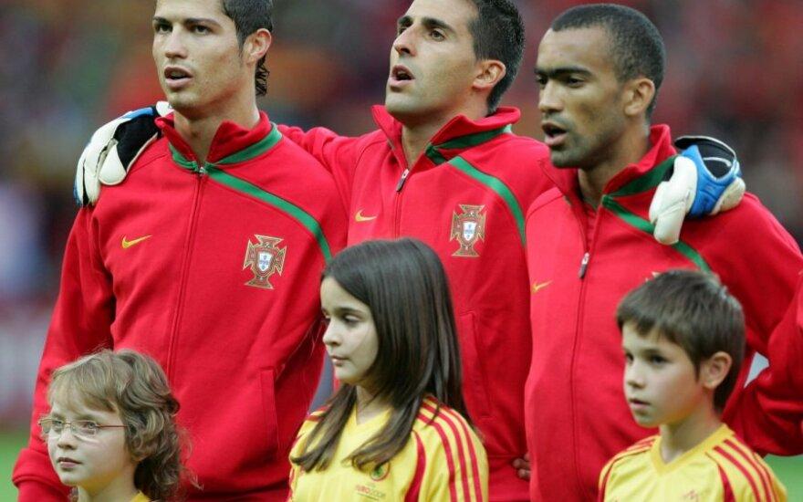 Cristiano Ronaldo, Ricardo ir Jose Bosingwa