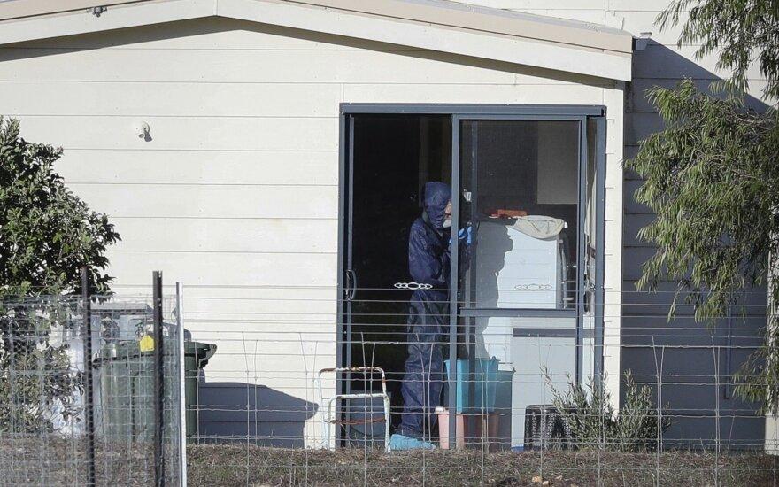 Australijoje tragiškų šaudynių aukomis tapo vienos šeimos trijų kartų nariai