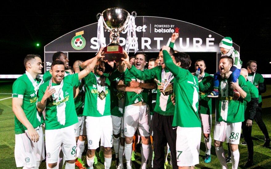 "Futbolo sezono premjeroje triumfavo LFF Supertaurę iškovojęs ""Žalgiris"""