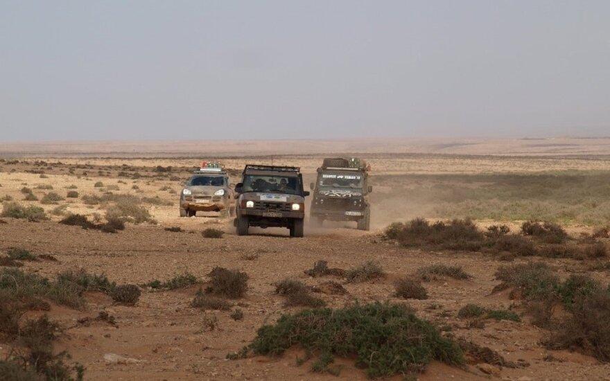Ralis senojo Dakaro keliais Afrikoje. Budapest-Bamako Rally nuotr.