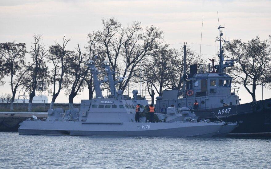 Rusijoje dėl ukrainiečių laivų užgrobimo – kalbos apie provokaciją: jau kaltina ir Lietuvą
