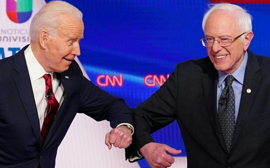 Joe Bidenas, Bernie Sandersas