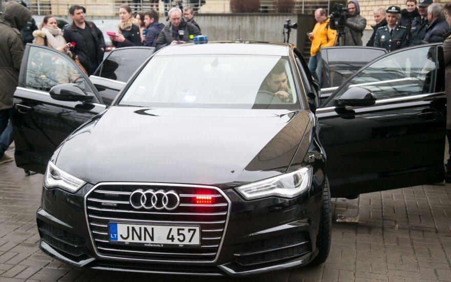 """Nauja nežymėta policijos """"Audi A6"""""""