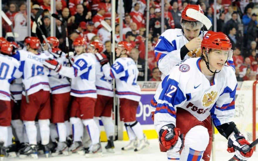 Rusijos jaunimo ledo ritulio rinktinės žaidėjai
