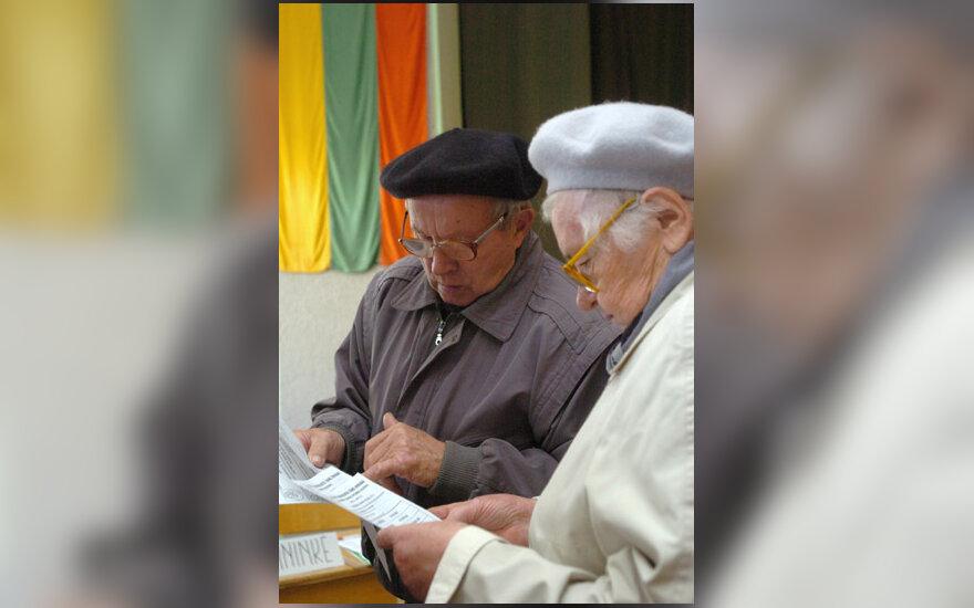 Seimo rinkimai, balsavimas