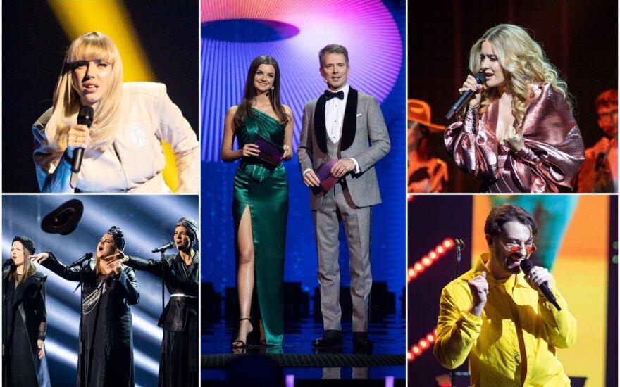 """Antrojo """"Eurovizijos"""" atrankų pusfinalio dalyviai"""