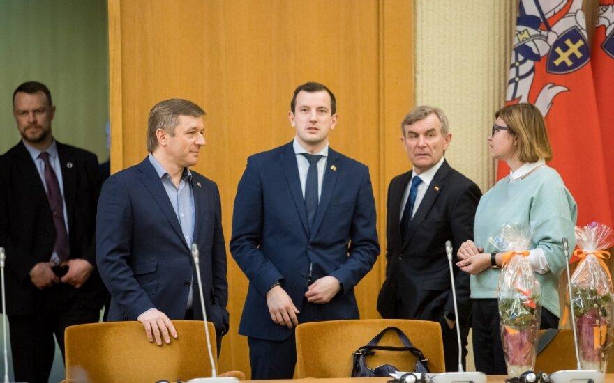 Ramūnas Karbauskis, Virginijus Sinkevičius, Viktoras Pranckietis, Aušrinė Norkienė
