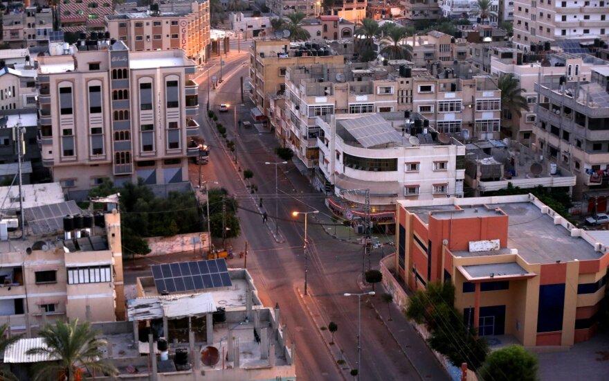 Daugiau nei 20 žmonių sužeista per sprogimą gyvenamajame name Gazos Ruože