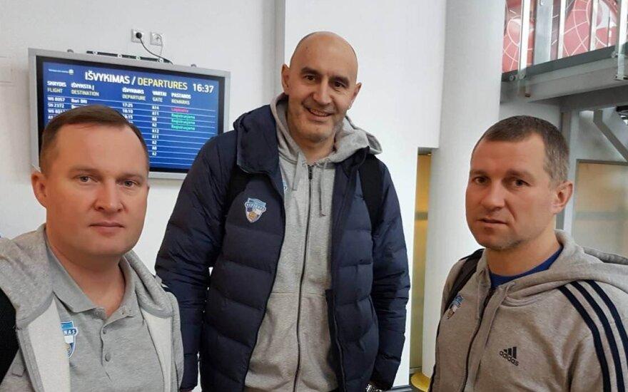Kazys Maksvytis, Jurica Žuža, Tomas Rinkevičius