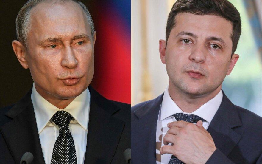 Vladimiras Putinas, Volodymyras Zelenskis