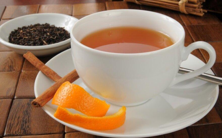 ATRADIMAS: karšta medaus arbata