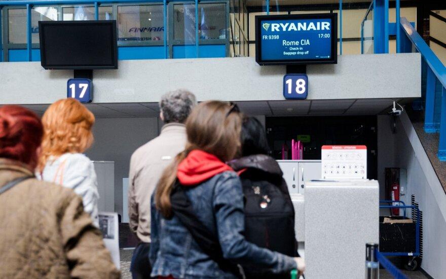 Oro linijų bendrovių informacija norintiems keisti skrydžių planus dėl koronaviruso