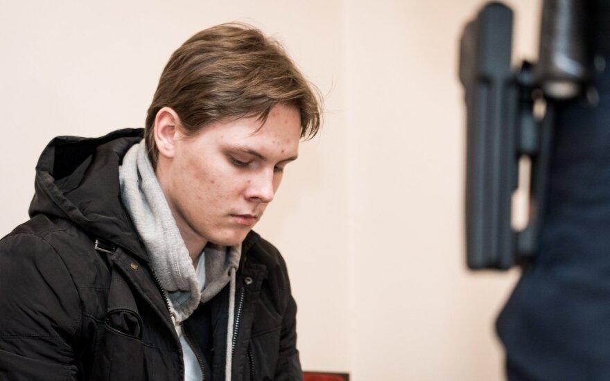 Pasikėsinimu įvykdyti teroro aktą Vilniuje įtariamas jaunuolis viską prisipažįsta ir prašosi į laisvę