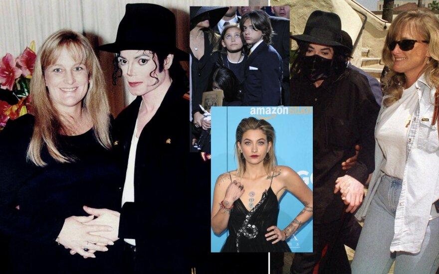Debbie Rowe, Michaelas Jacksonas ir jų vaikai