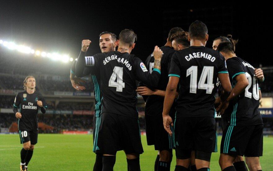 """""""Real"""" klubas grįžo į pergalių kelią Ispanijoje"""