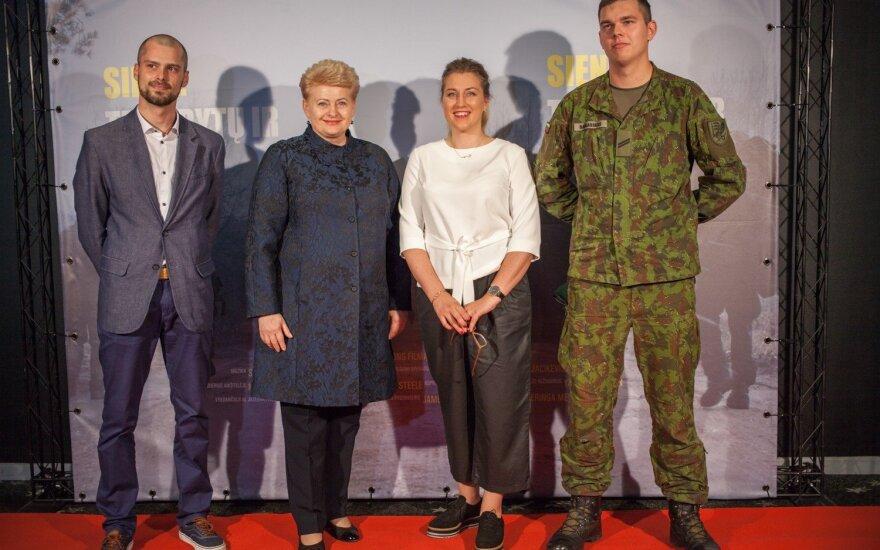 Stasys Vasiliauskas, Dalia Grybauskaitė, Neringa Medutytė, Aironas Babkauskas