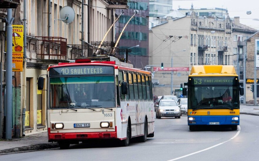 Vilnius public transport on Google Transit