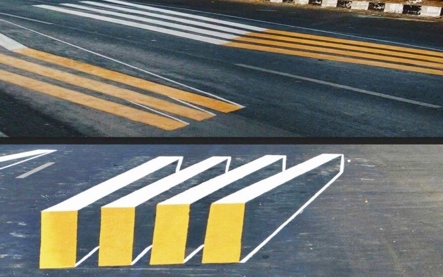 3D pėsčiųjų perėja