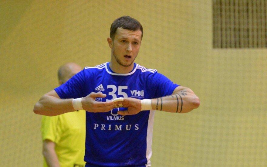 """VHC """"Šviesa"""" kapitonas Valdas Drabavičius (Nuotr. Gemantas Kropis)"""