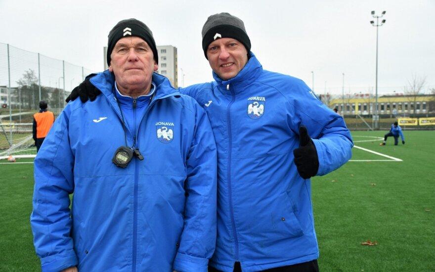 Piotras Kušlikas ir Robertas Poškus (fklietava.lt)