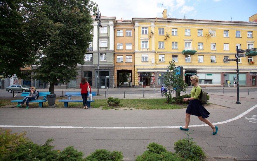 Vilniaus senamiesčio gatvė, kuri vis dar mena sovietmetį: siūlo revoliucinį sprendimą