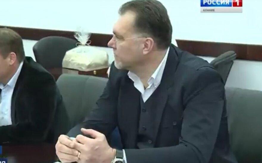Arvydas Sabonis Vladikaukaze