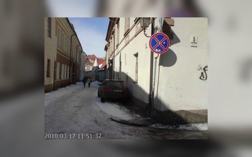 Vilniuje, Bernardinų g. 6. 2010-03-17, 11.51 val.