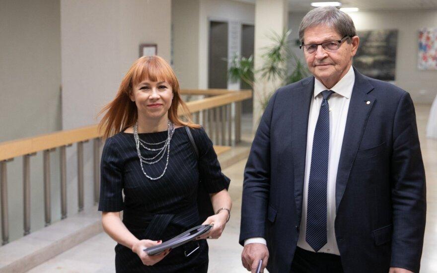 Jurgita Petrauskienė, Eugenijus Jovaiša