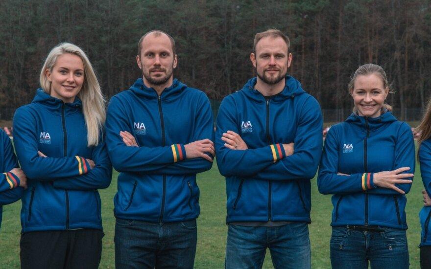 Nacionalinės sportininkų asociacijos nariai / Foto: Danielius Bondorovas