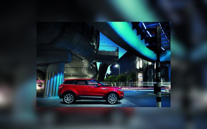 Penkiaduris Range Rover Evoque