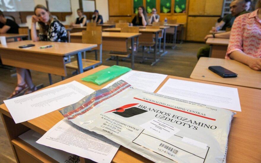 Abiturientai apsisprendė, kokių egzaminų nelaikys: nepopuliariausiųjų sąraše – 4 disciplinos