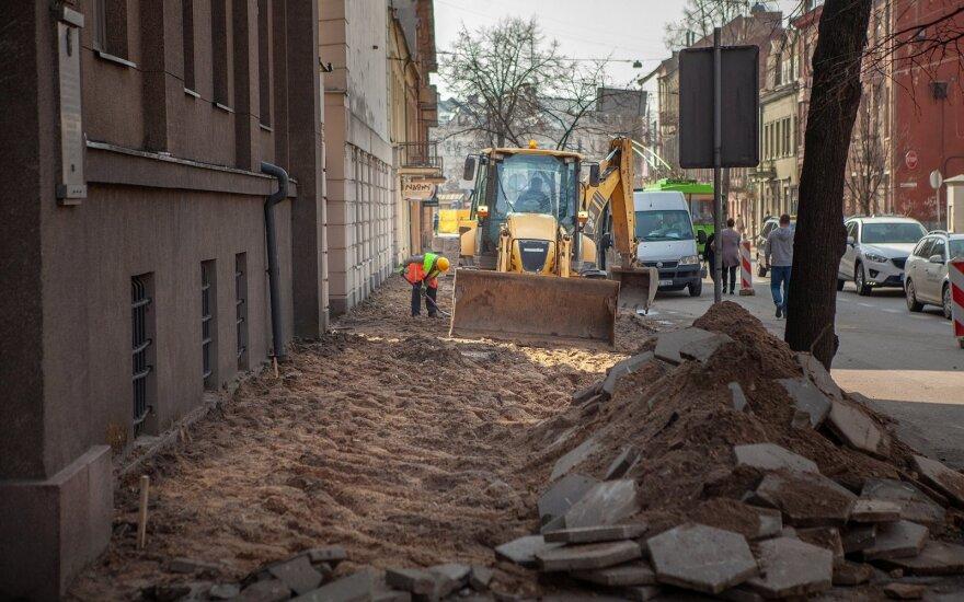 Kaunas ir kitais metais virs statybų aikštele